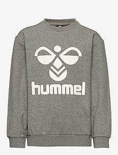 HMLDOS SWEATSHIRT - sweat-shirt - medium melange