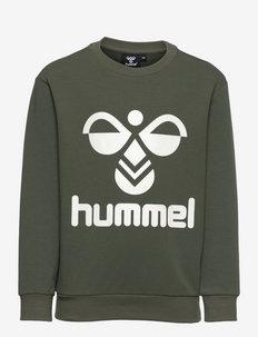 HMLDOS SWEATSHIRT - sweaters - thyme