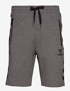 HMLRAY SHORTS - DARK GREY MELANGE