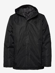 hmlBIRK COAT - wandel- en regenjassen - black