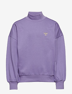 hmlNANNI SWEATSHIRT - bluzy - aster purple