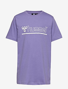 hmlCAM T-SHIRT SS - ASTER PURPLE