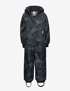 hmlTRAVIS SNOWSUIT - snowsuit - olive night