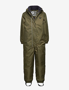 hmlSOUL SNOWSUIT - snowsuit - olive night