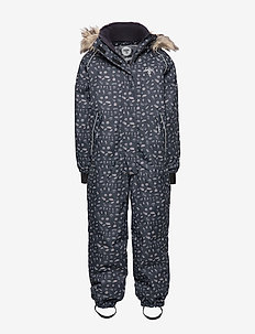 hmlBLUSH SNOWSUIT - snowsuit - graphite/shadow grey