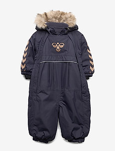 hmlMOON SNOWSUIT - vintertøj - graphite