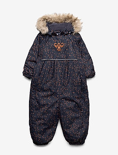 hmlMOON SNOWSUIT - vintertøj - graphite/sierra