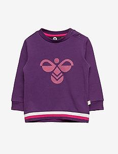 hmlLAUREN SWEATSHIRT - sweatshirts - grape royal