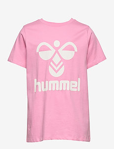 hmlTRES T-SHIRT S/S - FUCHSIA PINK