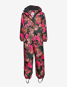 hmlROSA SNOWSUIT - snowsuit - multi colour pink