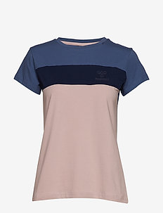 hmlADEN T-SHIRT S/S - BURNISHED LILAC