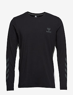 hmlNORTH T-SHIRT L/S - BLACK