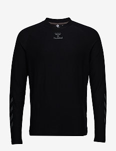 hmlJAREL T-SHIRT L/S - BLACK