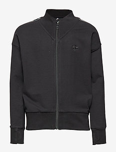 hmlGRO ZIP JACKET - BLACK