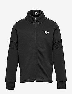 hmlASK ZIP JACKET - sweatshirts - black