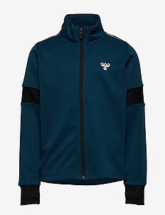 hmlASK ZIP JACKET - sweatshirts - majolica blue