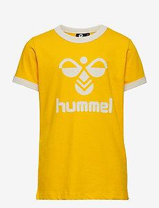 hmlKAMMA T-SHIRT S/S - SULPHUR
