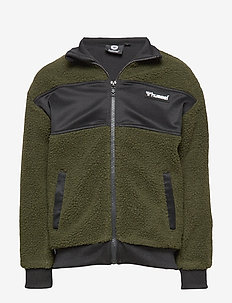 hmlEDGAR ZIP JACKET - OLIVE NIGHT