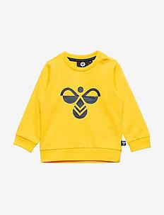hmlLEMON SWEATSHIRT - sweatshirts - lemon