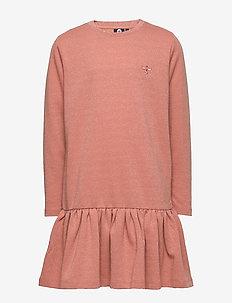 hmlINEZ DRESS L/S - ROSE DAWN