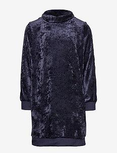 hmlLYRA DRESS L/S - NIGHT SKY