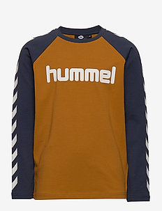 hmlBOYS T-SHIRT L/S - CATHAY SPICE