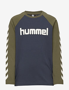 hmlBOYS T-SHIRT L/S - IVY GREEN