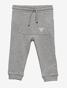hmlFUTTE PANTS - GREY MELANGE