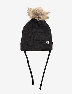 hmlTUT BEANIE - hats - black/graphite