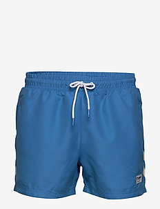 hmlRENCE BOARD SHORTS - swim shorts - brilliant blue
