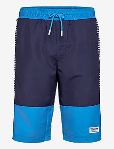 hmlNOLAN BOARD SHORTS - boardshorts - brilliant blue