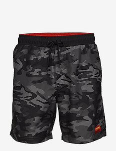 hmlEVAN BOARD SHORTS - BLACK