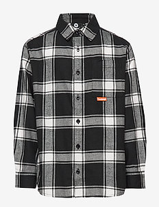hmlBUTHLER SHIRT - BLACK/WHITE