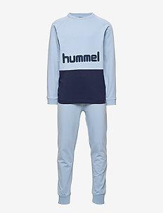 hmlSHANE NIGHTSUIT - sets - ashley blue