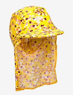 hmlBEACH SUNHAT - uv caps - golden rod