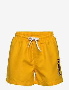 hmlBONDI BOARD SHORTS - swimshorts - golden rod