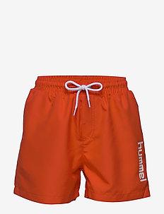 hmlBONDI BOARD SHORTS - shorts de bain - mandarin red