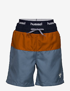 hmlGARNER BOARD SHORTS - swimshorts - copen blue