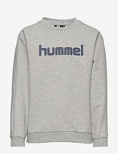 hmlWARIS SWEATSHIRT - bluzy - grey melange