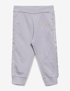 hmlMARGRET PANTS - sweatpants - lilac gray