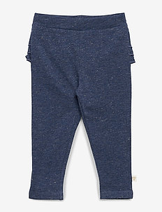 hmlGOLDIE PANTS - DARK DENIM