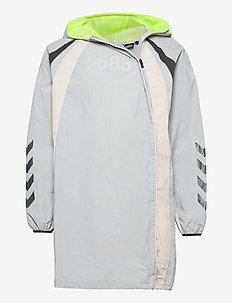 hmlWILLY LONG JACKET - sports jackets - harbor mist