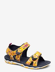 SANDAL SPORT FLOWERS JR - sandals - golden rod