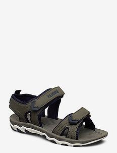SANDAL SPORT JR - sandals - deep lichen green