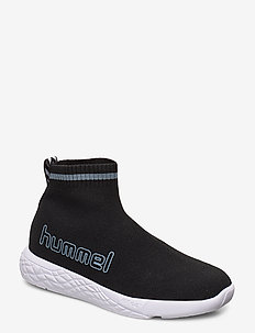 TERRAFLY SOCK RUNNER JR - tenisówki - black