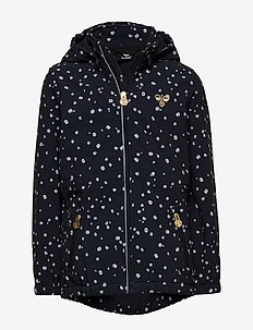 hmlELIN SOFTSHELL JACKET - NIGHT SKY