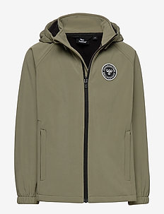 hmlFREDERIK SOFTSHELL JACKET - softshell jacket - deep lichen green