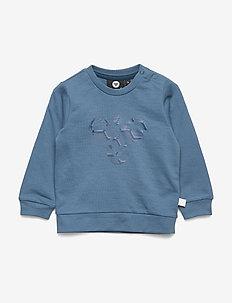 hmlLIME SWEATSHIRT - sweatshirts - stellar