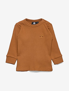 hmlSAMI T-SHIRT L/S - GLAZED GINGER