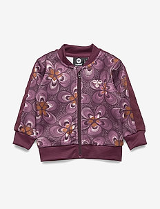 hmlTULOU ZIP JACKET - sweatshirts - rosewater